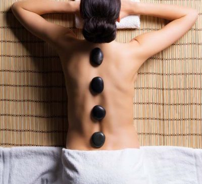 hot stone massage Vyve